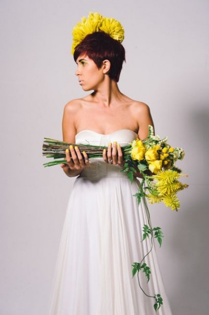 Yellow Modern Bouquet