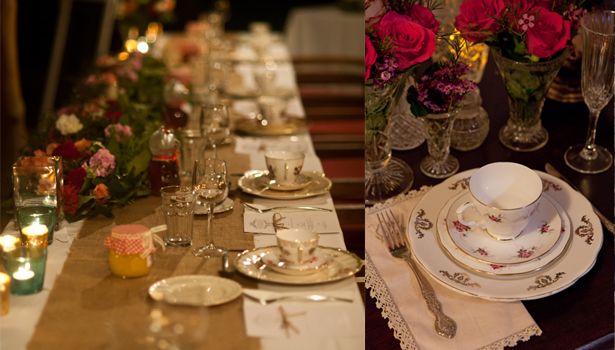 Pretty China for Weddings