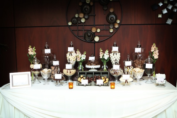 Candy Table at Wedding