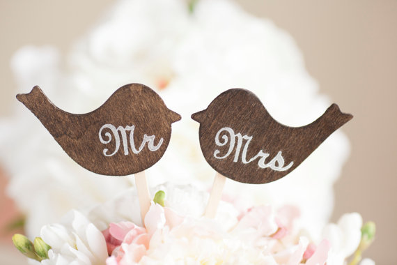10 Wedding Cake Toppers Unique Ideas