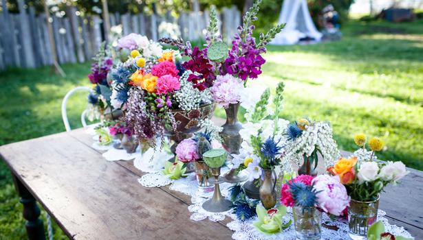 Pretty Flowers Vintage Wedding
