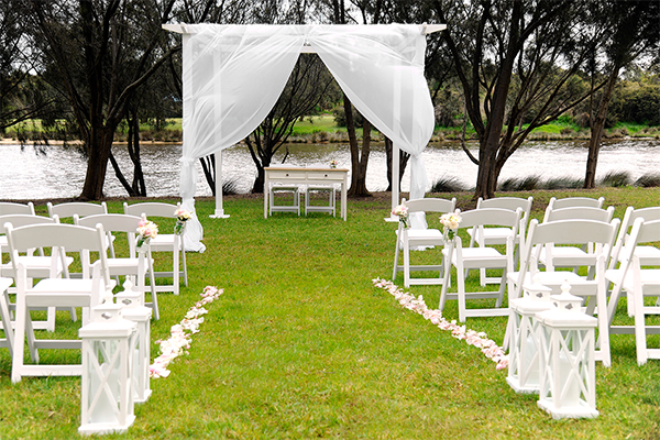 25 Best Ideas About Outdoor Wedding Ceremonies On: Weddings At Assured Ascot Quays Apartment Hotel