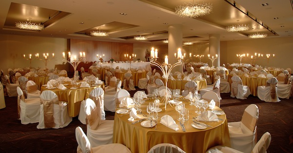 Parmelia Hilton Perth Wedding Setup