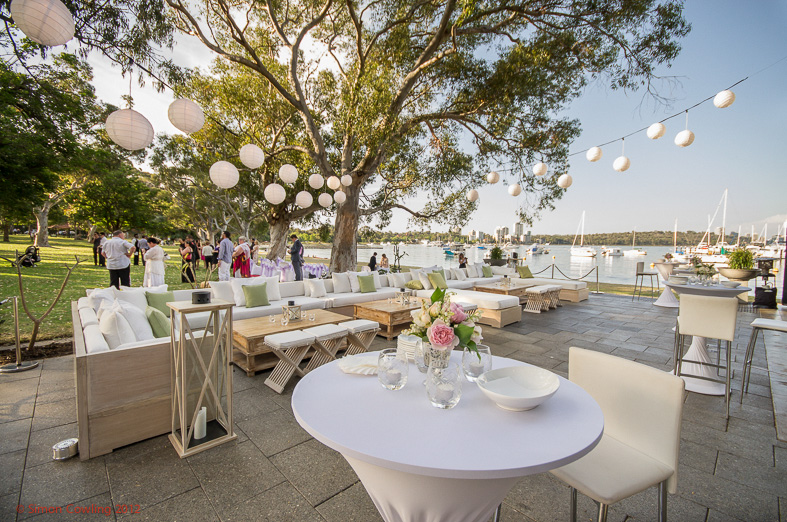 Garden Wedding Venues Perth Matilda Bay